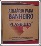 Armário para Banheiro Plasbohn